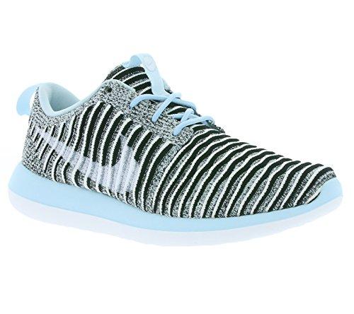 NIKE W Roshe Two Flyknit Schuhe Damen Sneaker Turnschuhe Grau 844929 402 Grau