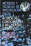METODOS Y TECNICAS INVESTIGACION SOCIAL V. 1