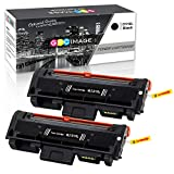 GPC Image Kompatibel Toner Patronen für Samsung D116L MLT-D116L (2 Schwarz) für Samsung Xpress SL M2835dw M2625d M2825nd M2885fw M2825dw M2675 M2675fn M2875fd M2626 M2626d M2676 M2676n M2676fh Drucker