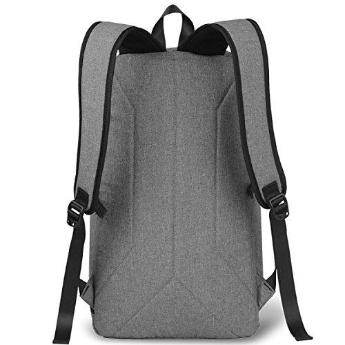 BULAGE Taschen Rucksäcke Schultern Business Computer Freizeit Sport Reisen Schüler Schultaschen Männer Mode Outdoor Grey