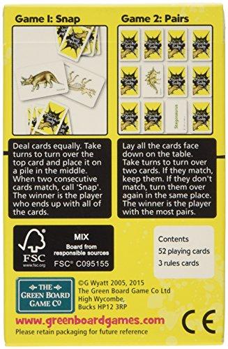 Imagen 1 de Green Board Games Juegos de Mesa Verde - Snap Dinosaur