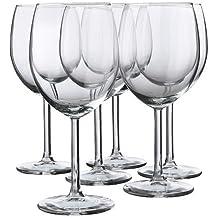 IKEA 5054186039106 Svalka Rotweinglas, Glas, Transparant, 25 x 19 x 17 cm, 6 Einheiten