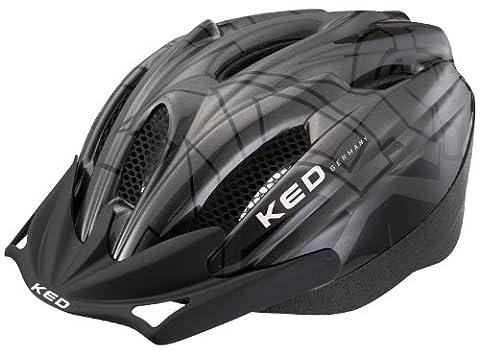 KED Fahrradhelm Flitzi, Anthracite Black, 52-57 cm, 15317079M