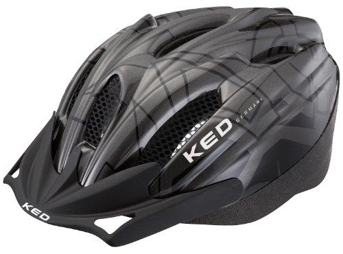 KED Fahrradhelm Flitzi, Anthracite Black, 56-61 cm, 15317079L