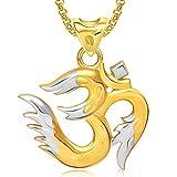 Meenaz Om Ganesha Ganpati Pendant,Locket...