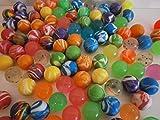 Schnooridoo 100 x bunt gemischte Flummis 20 mm Springball Hüpfball Gummiball Give Away