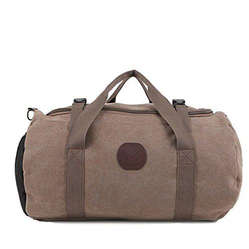 Mode-taschen/Tragbare Großraum-gepäcktasche/Reisepaket/Fitness-paket-braun braun