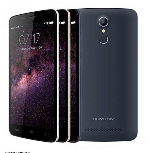 HOMTOM HT17 Android 6.0 Smartphone 4G 5.5 pulgadas HD de reconocimiento de huellas digitales de 64 bits MTK6737 Quad...