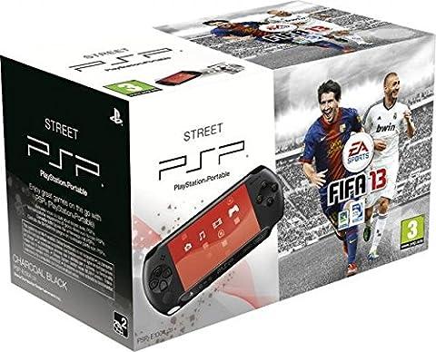 Console PSP Street (E1004 noire) + Fifa
