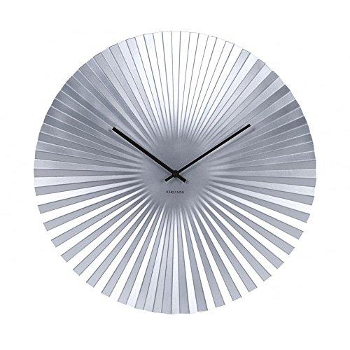 Orologio da parete Karlsson Sensu–argento