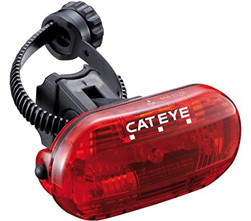 Cateye Omni 3G TL-LD135G Rücklicht, Klarglas/Rot, One Size (Cateye Rücklicht-halterung)