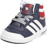 adidas Originals Top Ten Hi I, Chaussures basses mixte bébé - Bleu (G63355), 24 EU