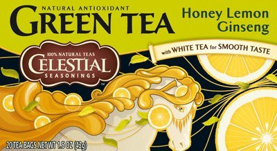 Honey Lemon Ginseng Green Tea, 20 Btl.