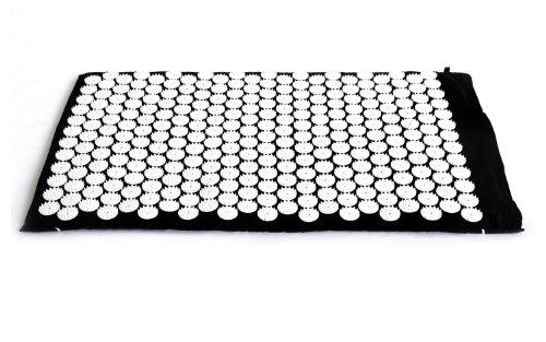 FA Sports Akupressurmatte YogiPlus ZhenBian +, schwarz/weiß, 80x50x2,5 cm, C