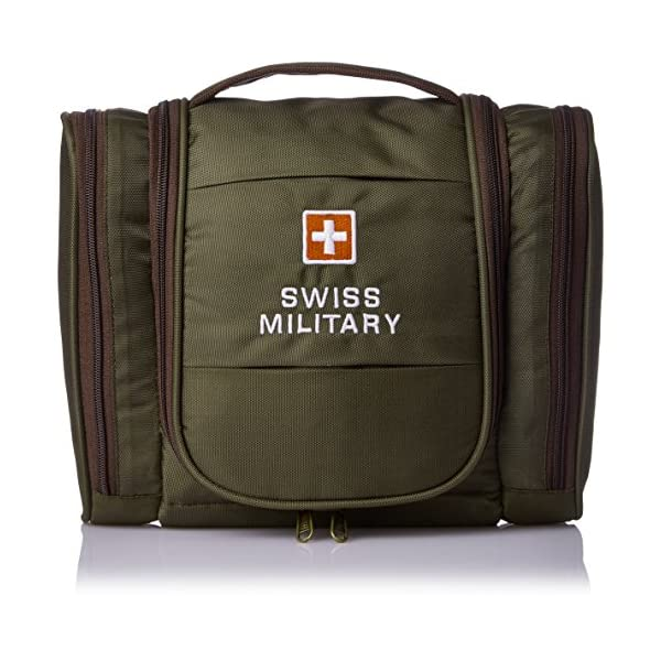 cbc331e9a4d0 Swiss Military Green Toiletry Bag (TB-2) - Pinkkuli.com Online ...