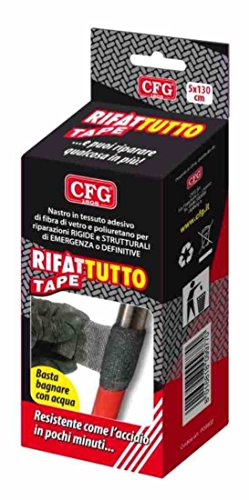 Rifàttutto Tape morbido nastro di tessuto di fibra di vetro. imbevuto di resina poliuretanica monocomponente che indurisce con l'umidità