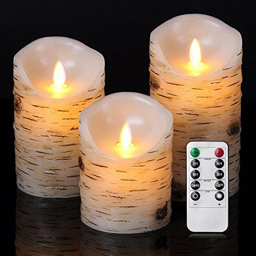 ose Kerze Birkenkerze-Set (4