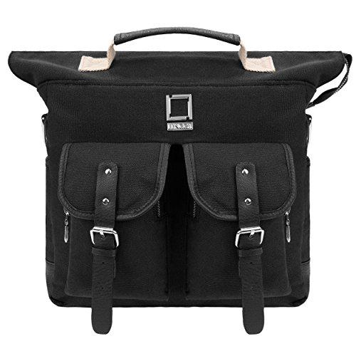 lencca-mini-phlox-backpack-and-shoulder-messenger-bag-satchel-black
