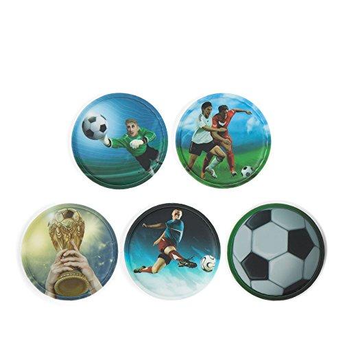 Ergobag Accessoires Klettbilder-Set 5-tlg Kletties Fußball Fußball