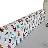 LIQICAI Barandillas for Camas For Niños Espuma Almohadilla for Bebés Niños Guardia De Seguridad for Tu Bebé Barrera De Cabecera Anti-caída, 6 Colores (Color : A, Size : 2.0m(1-Pack))
