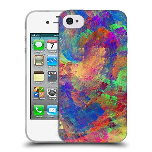 Offizielle Andi GreyScale Schillernde Drachen Lebendig Soft Gel Hülle für Apple iPhone 5c Helle Beleuchtung Version 2