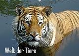 Welt der Tiere (Wandkalender 2019 DIN A2 quer): Tiere verzaubern uns, dieser Kalender bietet einen kleinen Einblick in die Vielfalt unserer Tierwelt (Monatskalender, 14 Seiten ) (CALVENDO Tiere)