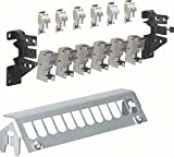 Hager Panel 12-Piece with 6XRJ45Modules FZ12MM