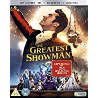 The Greatest Showman Blu-ray + digital 2017