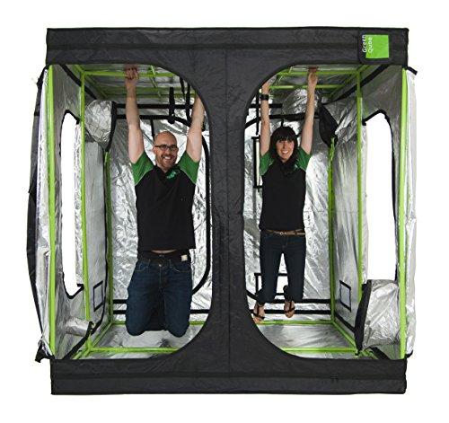 Grün Qube gq300Grow Zelt 3m x 3m x 2m Hydrokultur - 3x4 Wachsen Zelt