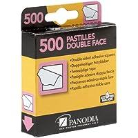 Panodia 270891 Boîte de 500 Pastilles Adhésives Double Face