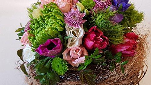 Blumengesteck mit frischen Blume- die perfekte Alternative zum frischen Blumenstrauß