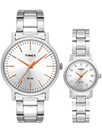 Timex Analog Silver Dial Unisex's Watch-TW00PR198