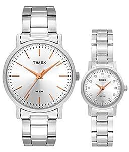 Timex Analog Silver Dial Unisex Watch - TW00PR198