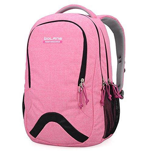 alla-moda-leggero-impermeabile-in-nylon-zaino-scuola-bag-super-cute-stripe-school-college-laptop-bag
