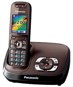 panasonic kx tg8521ga schnurloses telefon mit elektronik. Black Bedroom Furniture Sets. Home Design Ideas