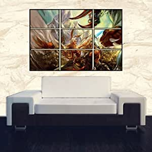RUNES OF MAGIC Poster Kunstdruck (ca.) 67,3 x 90,2 cm DIGITAL WALL ART
