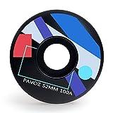 Best Skateboard Wheels - Skateboard Wheels Park 52mm 100A Pavoz Geometry Black Review