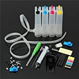 Dubaria® CISS Ink Tank Kit Universal For HP DeskJet 1000, HP DeskJet 1010, HP DeskJet 1050, HP DeskJet 1510, HP DeskJet 2000, HP DeskJet 2050, HP DeskJet 3050 Printers
