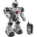 """deAO RC Robot """"bestia Ares"""" con múltiples medidas sonidos luces y efectos incluye dardos de plástico"""