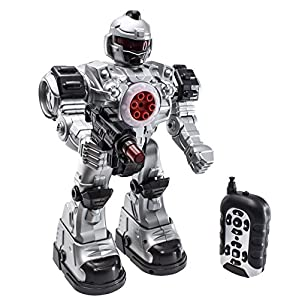 51dSP6dABnL. SS300  - deAO RC Robot bestia Ares con múltiples medidas sonidos luces y efectos incluye dardos de plástico