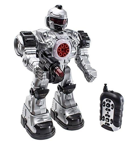 """51dSP6dABnL - deAO Robot Teledirigido """"Beast Ares"""" Interactivo con Acciones Múltiples y Efectos de Luz y Sonido Incluye Dardos de Plástico"""