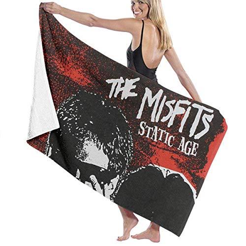 Misfits Gesicht (Ghkjhk8790 Unisex Misfits Static Age Family Big Bath Towel)