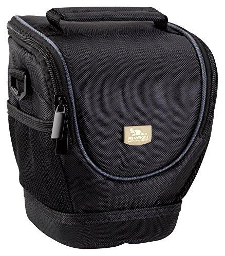 Riva Kamera Schutz Hülle Tasche Bag Case Schwarz für Panasonic Lumix DMC-FZ200