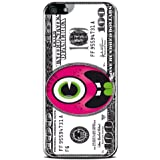 Modelabs Made In France Coque rigide auto cicatrisante en silicone pour iPhone 5 Motif Monstre Dollar