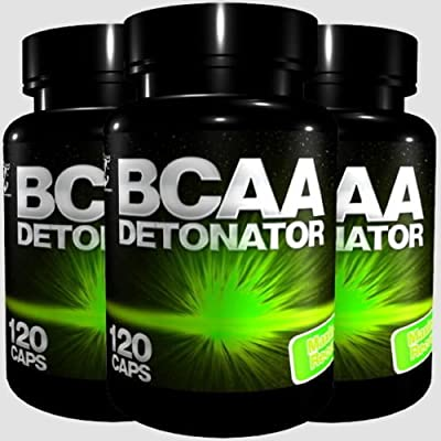360 X BCAA DETONATOR TABLETS - PROTEIN AMINO ACIDS, Anabolic BodyBuilding - 1st CLASS P&P by BULL ATTACK
