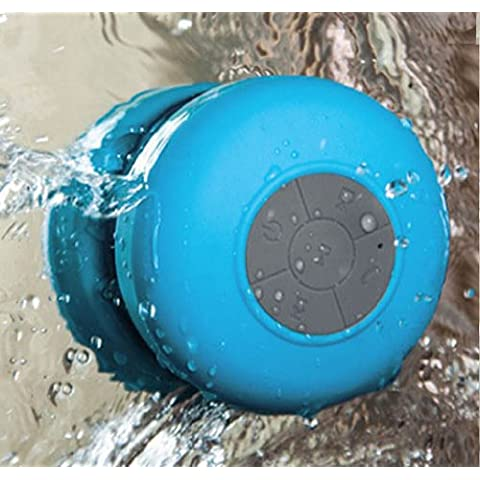 Xcsource IP091 - Altavoz portátil (Bluetooth), azul