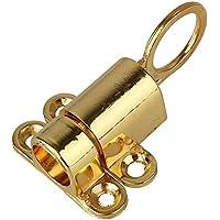 BQLZR d'oro della famiglia Office Security primavera scorrere Bolt in lega di zinco per porte e finestre Chiusura a scatto chiusura automatica
