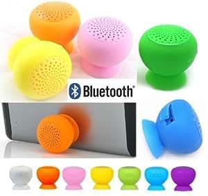 Coloris BLEU CLAIR: Enceinte Waterproof Bluetooth à Ventouse, Super SON!