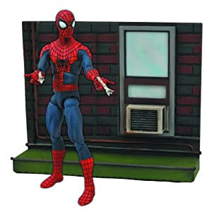 Marvel JUN142095 - Figura de acción Action Man (Diamond Select Toys JUN142095) - Figura The Amazing Spiderman 2 (18 cm) 3