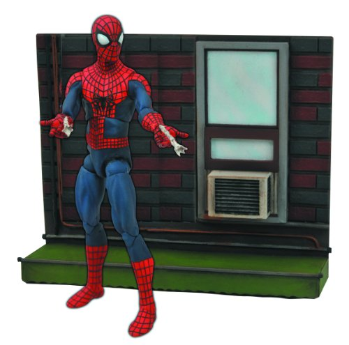 Marvel JUN142095 - Figura de acción Action Man (Diamond Select Toys JUN142095) - Figura The Amazing Spiderman 2 (18 cm) 1